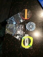 Fly Fishing Reel Combo 1/2 WT conventional Arbor Aluminum Fly Reels and Line