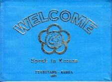 WELCOME SPEAK IN KOREAN vintage North Korea phrase book for tourists to DPRK