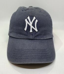 '47 MLB New York Yankees Cap Hat Kids Adjustable Blue 100%Cotton