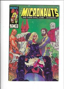 Micronauts 59 NM-/NM final issue HTF Painted Cover