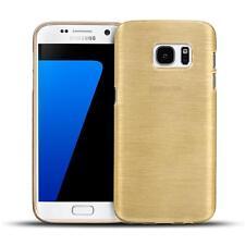 Handy Hülle Samsung Galaxy Case Schutz Cover brushed Tasche Silikon
