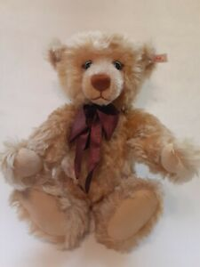 "Steiff Bear 670374 Millenium Teddy Blond Limited Edition 1999 Growler 16"""