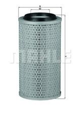 Luftfilter - Mahle LX 49