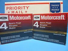 Set 8 Genuine FORD Motorcraft SP432 Spark Plugs OEM# AGSF32FM Platinum