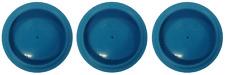 IWATA SPRAY GUN CUP LID BLUE NEW 3 LIDS (IWATA-94008321)