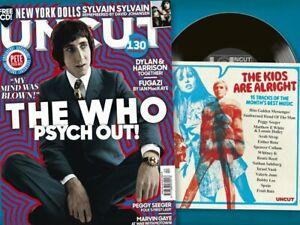 The Who  - Uncut Magazine + CD APRIL 2021 (NEW MAGAZINE)