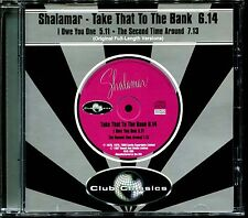 SHALAMAR - TAKE THAT TO THE BANK / THE SECOND TIME AROUND - CD MAXI [1591]