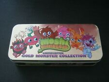 moshi monster special edition gold figures in tin