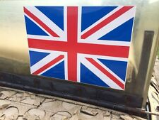 ARMY LAND ROVER WOLF WIMIK SNATCH DEFENDER AFGHAN IRAQ UNION JACK LARGE DECAL X2