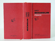 "ANCIEN GUIDE ROUGE MICHELIN FRANCE "" EDITION 1983 """