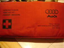 Audi  A4 , A6 , A8 , T.T. OEM Hartmann first aid kit and RED bag , 4B0 860 281