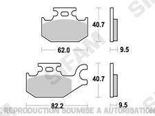 Plaquettes de frein arrière Quad CAN-AM outlander 400 2007 à 2013 (S1266)