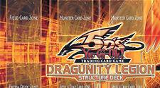 YU-GI-OH UNUSED PLAYMAT FROM THE DRAGUNITY LEGION DECK