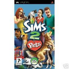 THE SIMS 2 PETS SONY PSP VERSIONE ITALIANA NUOVO NEW