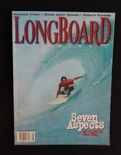 Longboard Magazine 1997 Vol.5 #3 August Surfing Hawaii Surfer Longboard