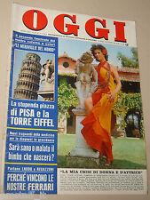 OGGI 1974/28=SORBOLO=TEBALDI=ENRICO FAGNONI=CLAUDIA MARSANI=MAMBOR FIERRO=CLOWN