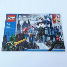 LEGO Istruzioni Originali - Instructions - 8780 - Citadel of Orlan (2004)