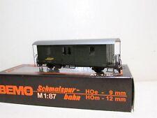 Bemo 3265 RhB Gepäckwagen Grün, D4033, Neu in OVP, H0m