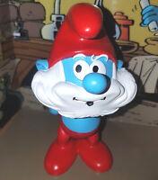I Puffi - Smurf - Grande Puffo Papa Smurf  Le Grand Schtroumpf Statua Plastoy