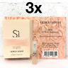 ARMANI Si ROSE SIGNATURE 3x 1.2ml EDP SPRAY Samples LADIES Perfume AUTHENTIC