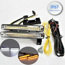 Driving Lamp Drl 36 Led Switchback Turn Signal Daytime Running Light Mb C D(Fits: Neon)