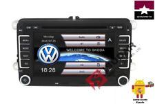 "DVD GPS 2 Din 7"" VW/Volkswagen Passat/POLO/GOLF/Skoda/Seat Leon RDS FM DE ESPAÑA"