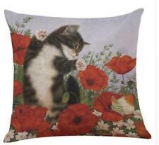 "Cat Pillows for Sofa Pillow Case pillow case Seat Cushion Cover Throw Pillow 18"""