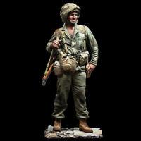 1/16 Resin US Marines Soldier W/Base Unassembled Unpainted
