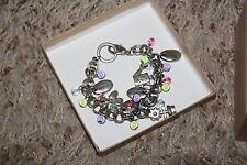 Bracelet Chain Charm Pendant Fashion Jewelery Gardener Gardening Bloom Plant