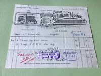 William Morier Wholesale Brush Manufacturer 1906 illustrated  receipt Ref R32302
