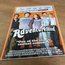 ADVENTURELAND .. KRISTEN STEWART ORIGINAL UK 2009 MOVIE film  POSTER
