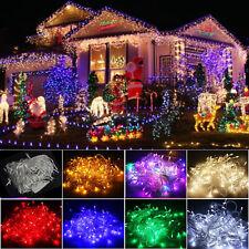 LED Christmas String Fairy Light 10M/20M/30M/50M/100M Wedding Xmas Party Decor