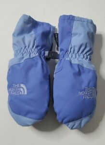 North Face Girls Toddler Gloves Size 2T Blue Snow Ski Outdoor