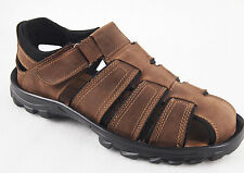 YWing LS200 Men's Leather Lightweight Comfortable Sandals--Special