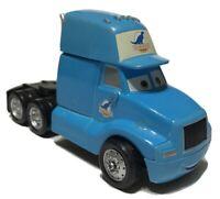 Pixar Disney Cars Diecast Grey Semi Truck Cab Dinoco 1:55 Loose