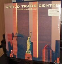 World Trade Center Twin Towers New York City Calendar 2002 Memorial, New