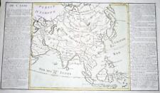 More details for c1770 large original map of asia india china borneo philippines siberia persia