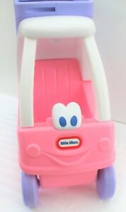 LITTLE TIKES COZY SHOPPING CART GROCERY TROLLEY GIRLS DOLL PINK PURPLE CHRISTMAS