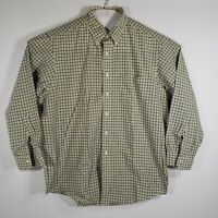 Brooks Brothers Mens Dress Shirt Button Down Long Sleeve 100% Cotton Size 17/34