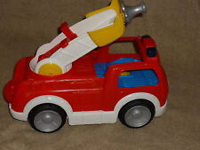 Fisher Price Little People Red Fire Truck with Sounds Music New