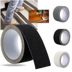 5M Anti-slip Stairs Tape Harmless Rubber DIY Decal Bathroom Safe Floor Sticker