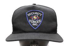 Sicherheit Militär inkl. schwarz - Einheitsgröße verstellbarer Snapback Ball