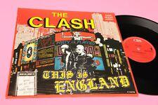 """CLASH 12"""" THIS IS ENGLAND ORIGINALE 1985 EX !!!!!!!!!!!!!!!!!!!!!!"""