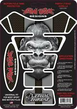 Lethal Threat Motorcycle Bike Tank Pad Protector Sticker Gorilla Lt70161