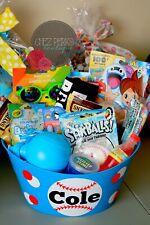 Easter Basket Pre Filled Gift Basket birthday Gift Set , Boy  , Easter bucket