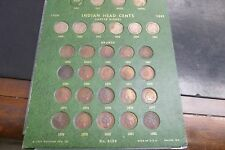 COMPLETE  SET OF INDIAN HEAD PENNIES- 58 COINS, AVERAGE GRADES
