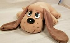 """Pound Puppies 18"""" Plush Puppy Panting Sounds Red Collar Vtg 1998 Galoob Toys"""