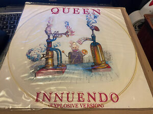 """Queen Innuendo Uk 1991 Orig Limited 12"""" Picture Disc"""