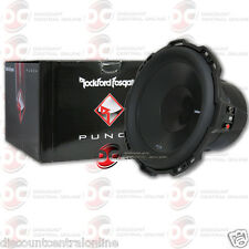 "ROCKFORD FOSGATE P3SD4-12 12"" DUAL 4 OHM CAR AUDIO SHALLOW MOUNT SUBWOOFER 400W"