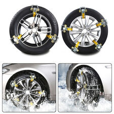 3pcs Car Truck Snow Ice Mud Chains Wheel Tyre Tire Anti-skid Thickened Tendon